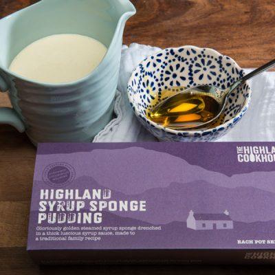 highland syrup sponge pudding